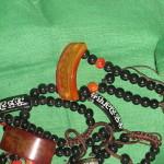 Budističke brojanice od jantara i poludragog kamena (porijeklo Mustang).